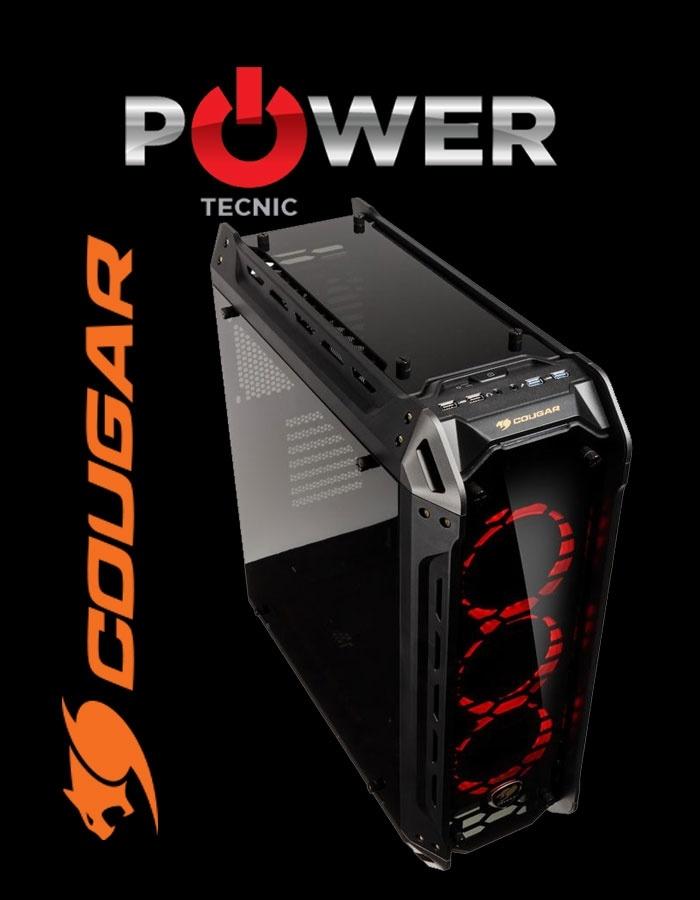 GABINETE COUGAR PANZER-G ULTRA GAMING – 4 CRISTALES TEMPLADOS – Power Tecnic   Armá tu PC Gamer